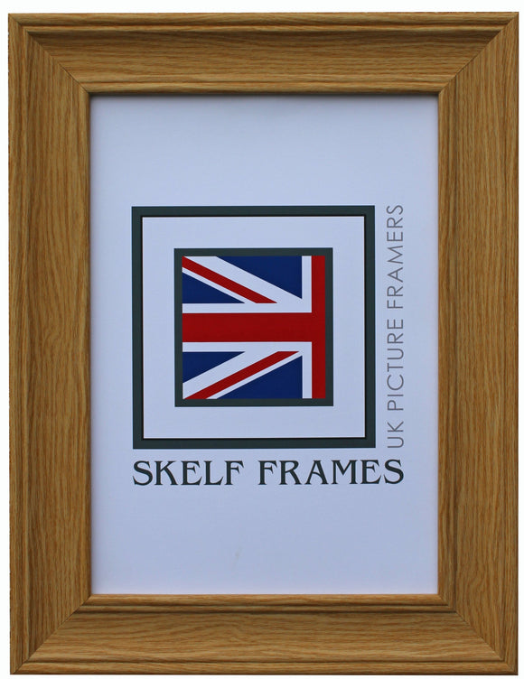Oak Wood Grain Effect CW Range Frame with Glass