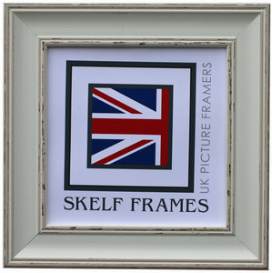 Vintage Shabby Distressed Effect Square Frame