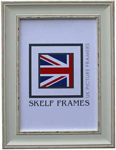 Vintage Shabby Effect CW Range Frame with Glass