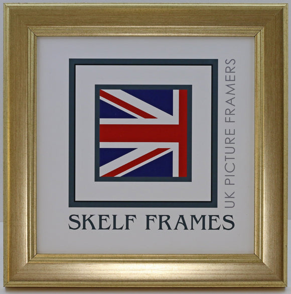 Champagne Gold Square Frame With Glass