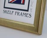 Panoramic Champagne Gold Frame