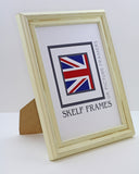 Distressed Off-White A1, A2, A3, A4 & A5 Size Frames
