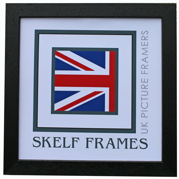 Econ Black Wood Square Frame