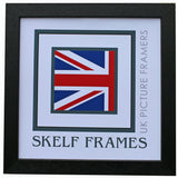 Econ Black Wood Square Frame with Glass