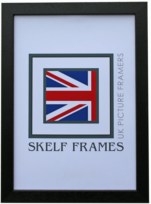 Econ Black Wood Frame