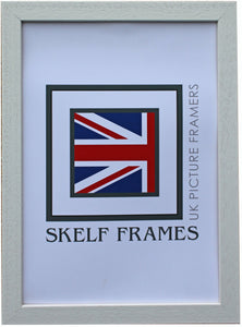 Econ White Wood Frame