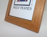 Antique Pine Distressed Wood Square Frame