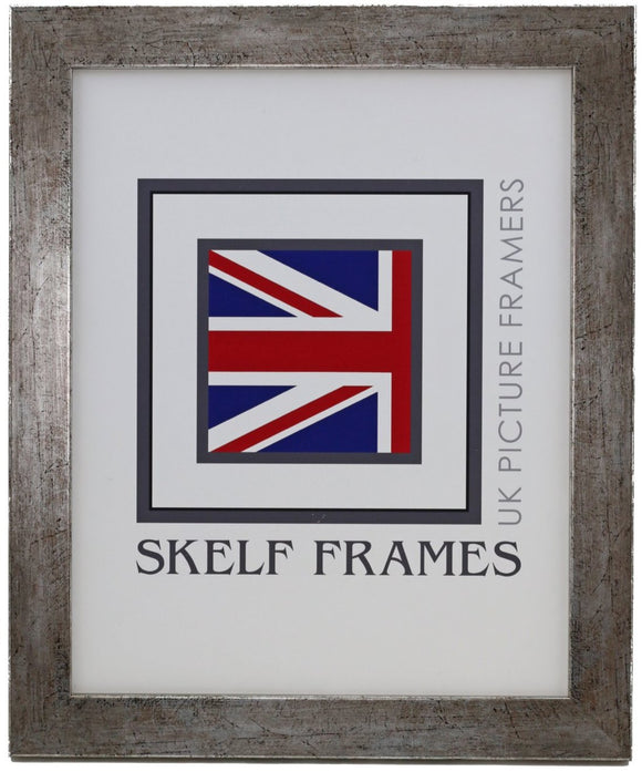 Flat Antique Silver Frame - Metric - CURRENTLY OUT OF STOCK