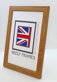 Honey Pine Frame with Glass
