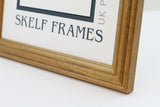Honey Pine Panoramic Frame with Glass