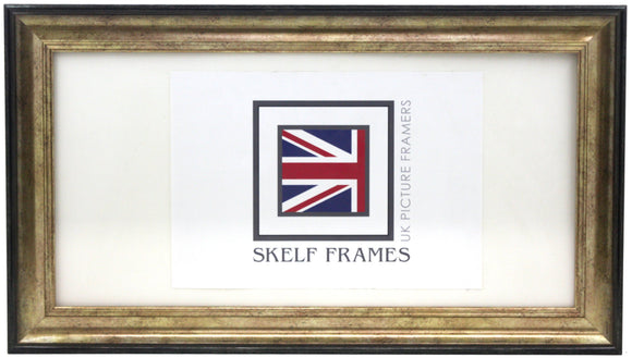Cornwall Gloss Gold Panoramic Frame