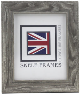 Cornwall Grey Woodgrain Effect Frame