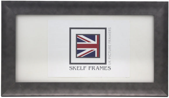 Serif Pewter Panoramic Frame