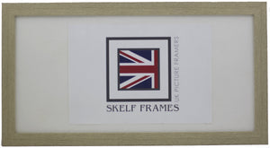 Panoramic Flat Brushed Oak Frame