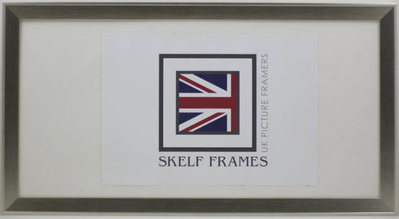 Panoramic Beveled Silver Frame