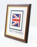 Dark Wood Gold Inlay A1, A2, A3, A4 & A5 Size Frames