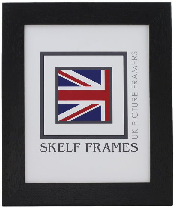 35mm Black Wood Frame