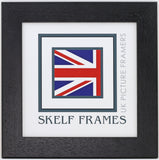 35mm Black Square Frame With Glass