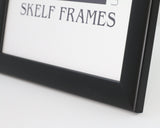 Matt Black Wood Frame
