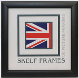 Matt Black Square Frame With Glass