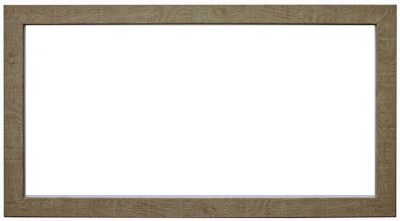 Panoramic Natural Orangebox Wood Grain Effect Frame with Glass