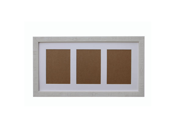 White Orangebox Wood Frame Grain Multi Aperture 20
