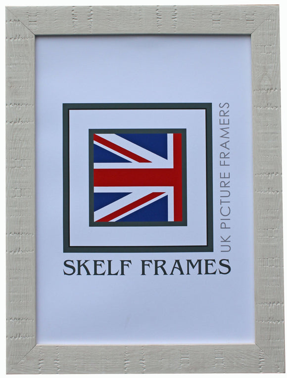 White Orangebox Wood Grain Effect Frame - CURRENTLY OUT OF STOCK