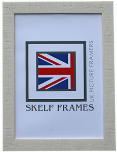White Orangebox Wood Grain Effect A3 & A4 Size Frames - CURRENTLY OUT OF STOCK