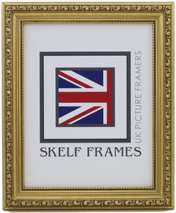 Ornate Gold Frame - Metric