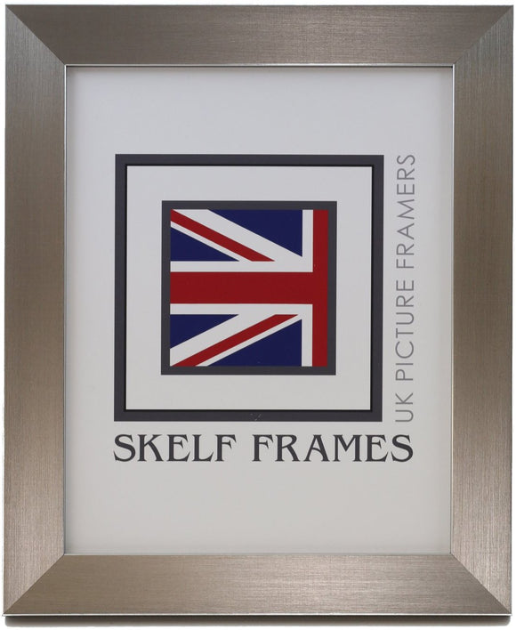 Pewter Frame - Metric