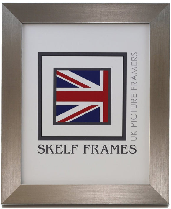 Brushed Pewter A3, A4 & A5 Size Frames