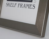 Panoramic Pewter Frame with Glass