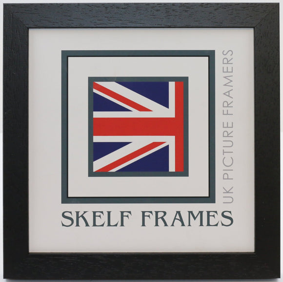 Black Phoenix Square Frame With Glass