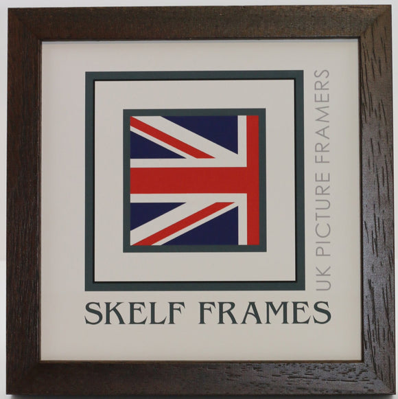 Phoenix Brown Square Frame With Glass