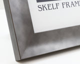 Serif Pewter Frame with Glass