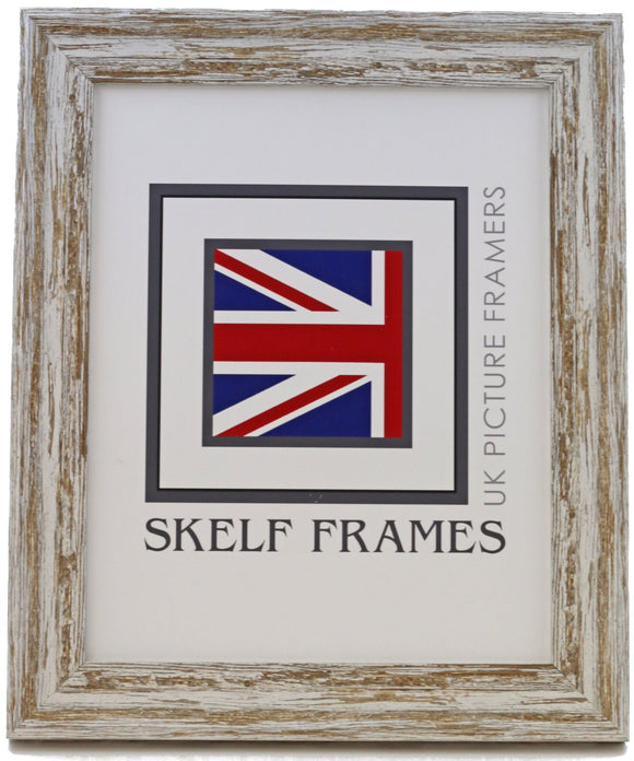 Dark Shabby Distressed Spoon Frame - CURRENTLY OUT OF STOCK