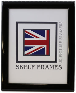 Shiny Black Wood Frame - CURRENTLY OUT OF STOCK