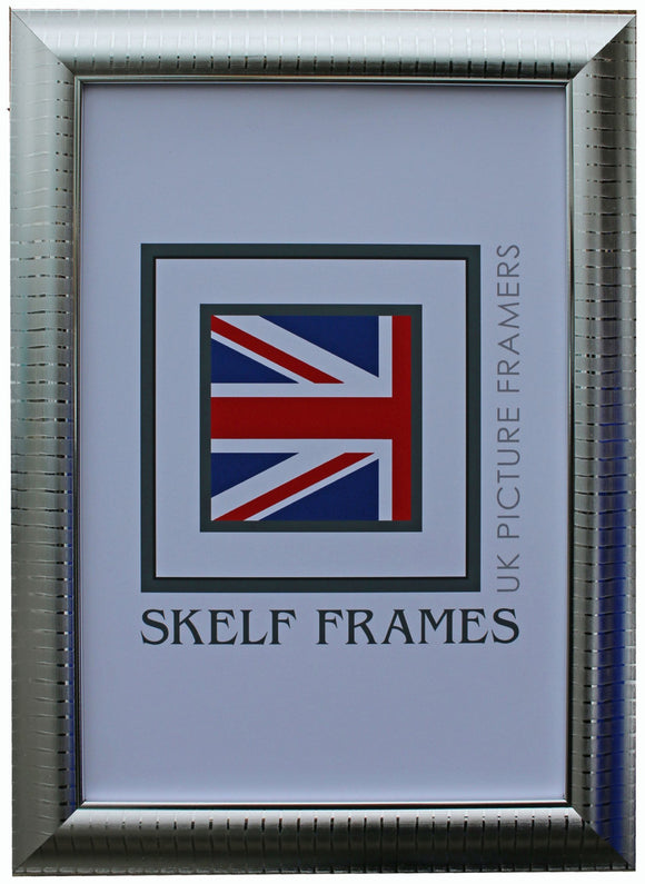 Silver Leaf Frame with Glass