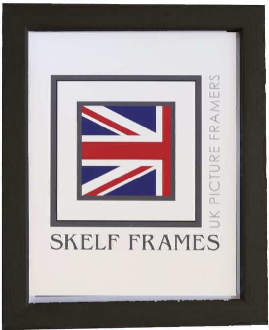 Black Thin Driftwood Frame