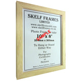 White Thin Driftwood A3, A4 & A5 Size Frames with Glass