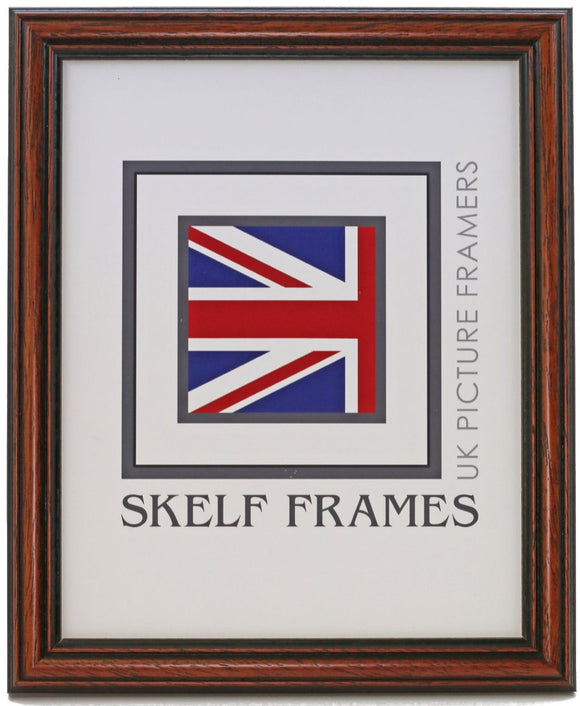 Traditional Dark Wood Frame