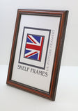 Traditional Dark Wood Frame with Glass