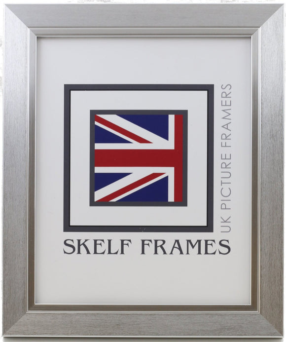 30mm Brushed Silver Frame