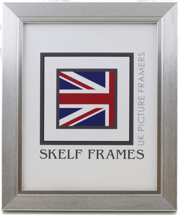 30mm Brush Silver Frame - Metric