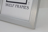 Panoramic 30mm Brush Silver Frame with Glass