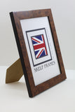 Walnut A3, A4 & A5 Size Frames with Glass