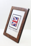 Walnut Effect Frames with Glass