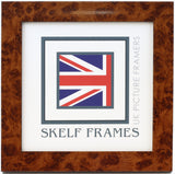 Walnut Effect Square Frame