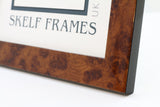 Panoramic Walnut Effect Frame