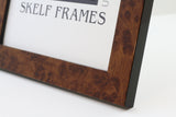 "Walnut Multi Aperture Frame - 22"" x 9"" - With Glass"